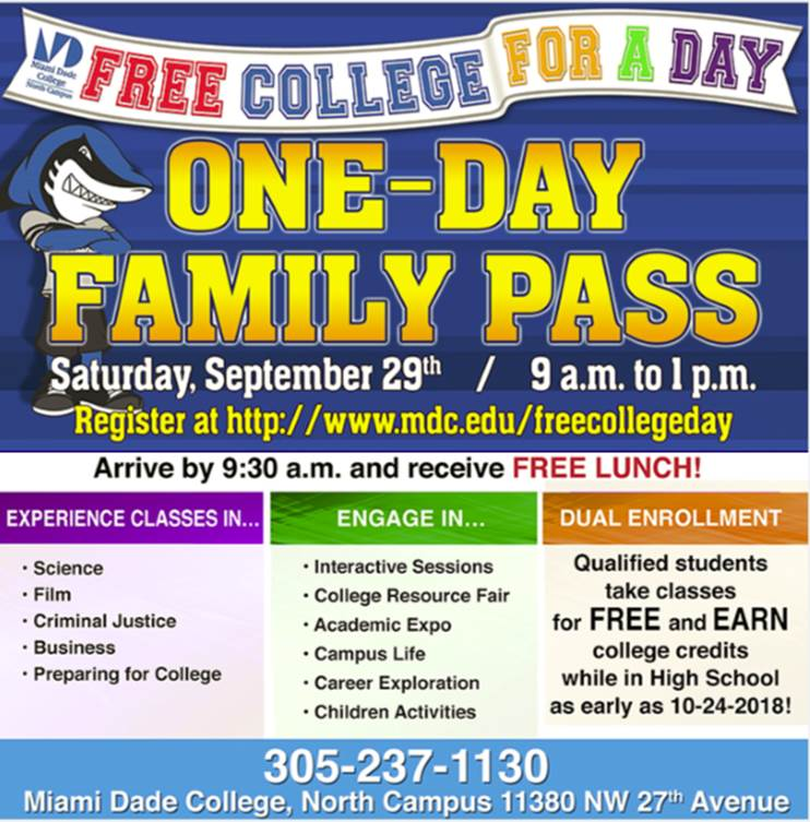 Free College For A Day – Country Club Middle School