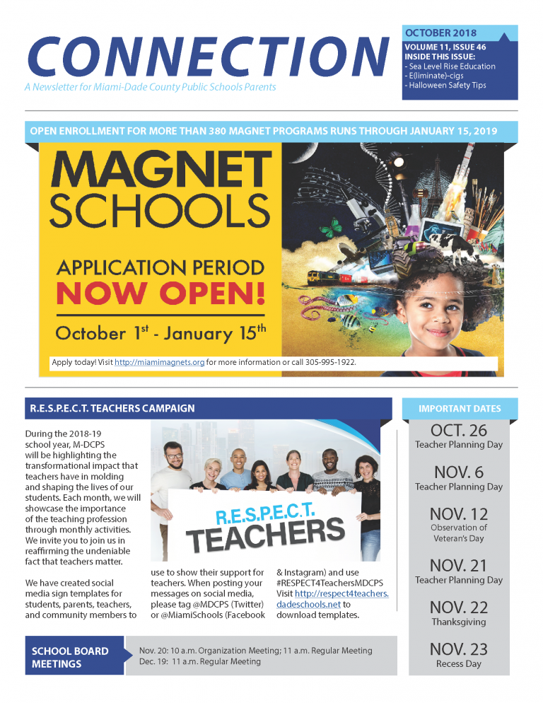 October_2018_Connection_Parent_Newsletter English_Page_1
