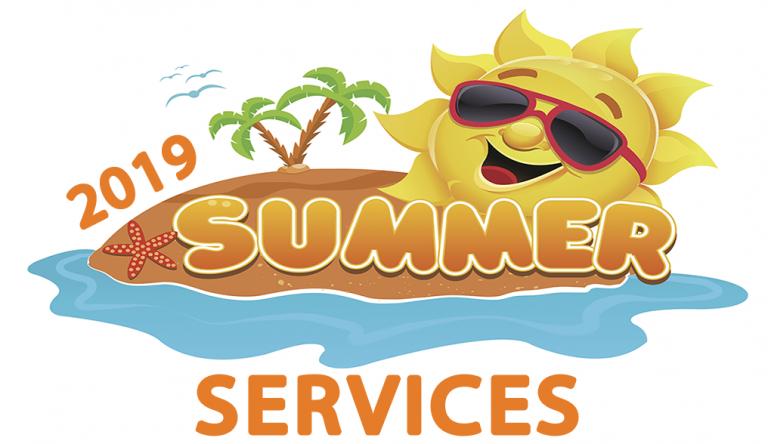 Summer Services Header